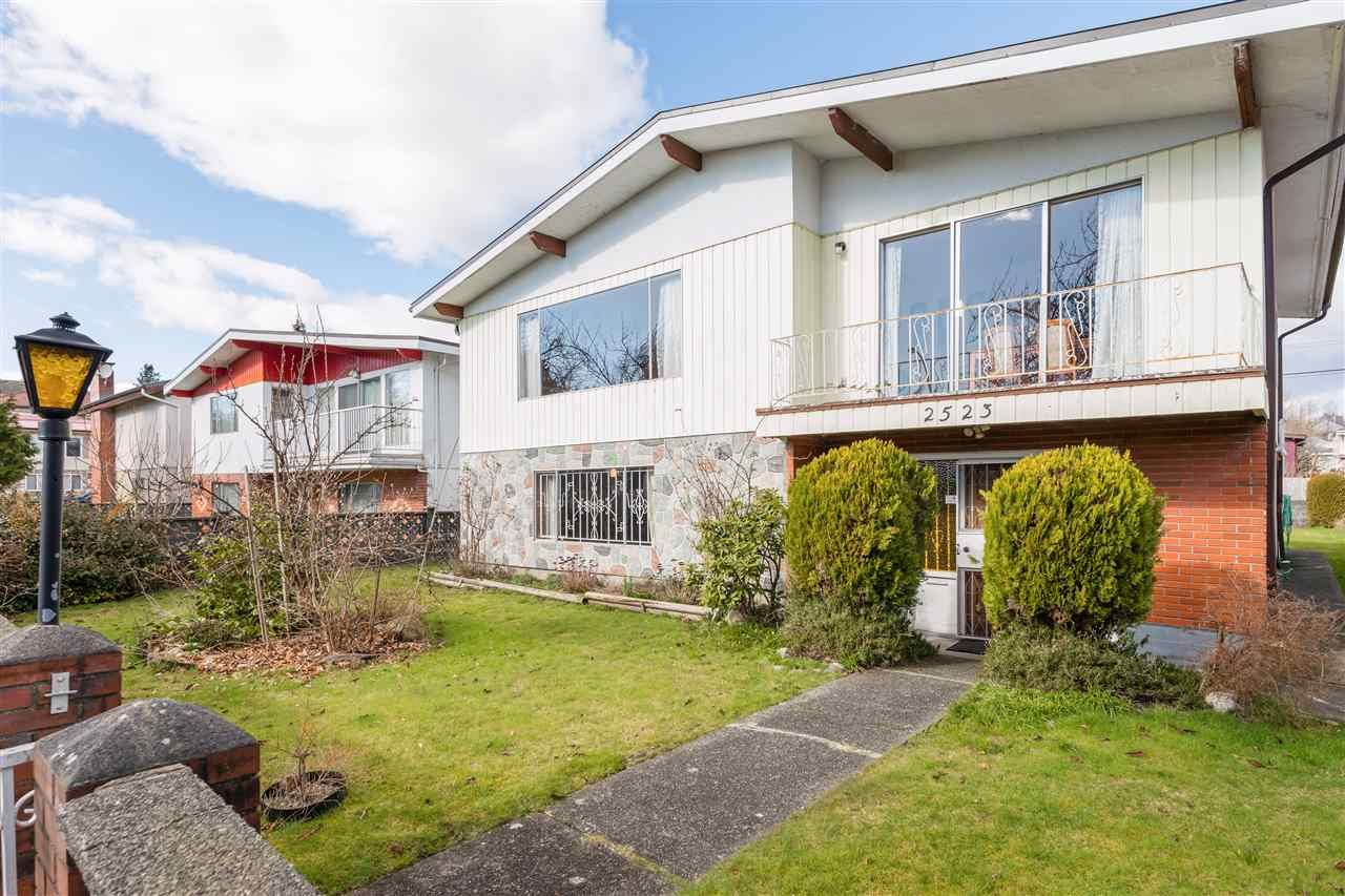 Main Photo: 2523 E 12TH Avenue in Vancouver: Renfrew Heights House for sale (Vancouver East)  : MLS®# R2544939
