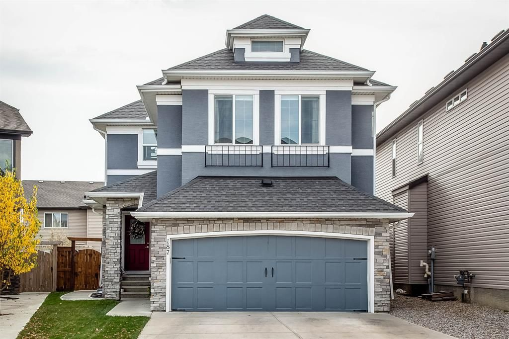 Main Photo: 187 Cranford Green SE in Calgary: Cranston Detached for sale : MLS®# A1092589