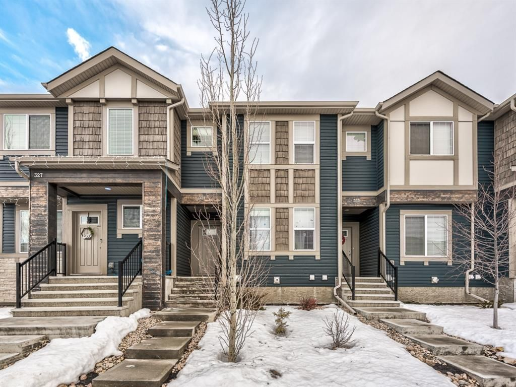 Main Photo: 331 Hillcrest Drive SW: Airdrie Row/Townhouse for sale : MLS®# A1063055