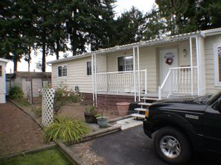 """Photo 1: 196 3665 244TH Street in Langley: Otter District Manufactured Home for sale in """"Langley Grove Estates"""" : MLS®# F2825786"""