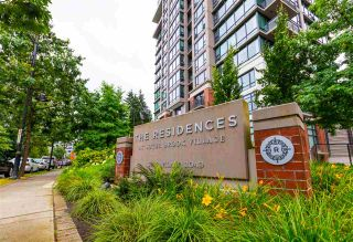 """Photo 1: 608 301 CAPILANO Road in Port Moody: Port Moody Centre Condo for sale in """"Residences at Suterbrook"""" : MLS®# R2484764"""