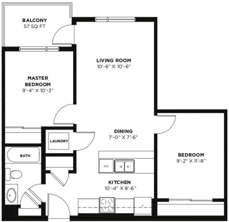 Photo 2: Photos: 420 19621 40 Street SE in Calgary: Seton Apartment for sale : MLS®# C4238171