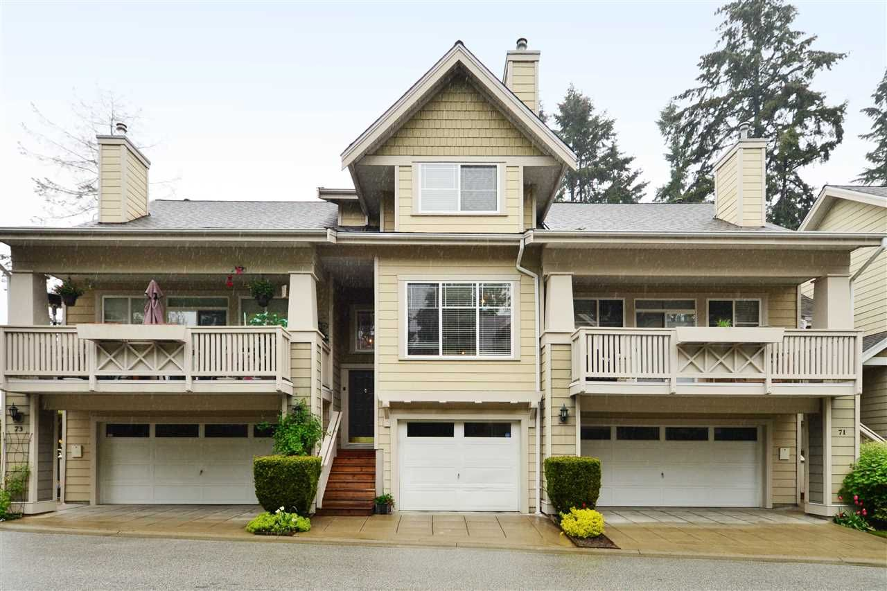 "Main Photo: 72 2588 152 Street in Surrey: King George Corridor Townhouse for sale in ""Woodgrove"" (South Surrey White Rock)  : MLS®# R2162320"