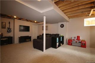 Photo 15: 95 Bellflower Road in Winnipeg: Bridgwater Lakes Residential for sale (1R)  : MLS®# 1717830