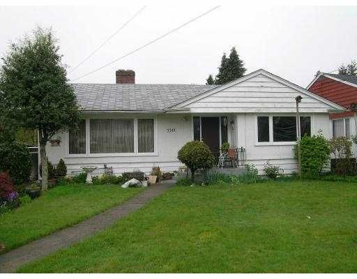 Main Photo: 7749 ROSEWOOD Street in Burnaby: Burnaby Lake House for sale (Burnaby South)  : MLS®# V645380
