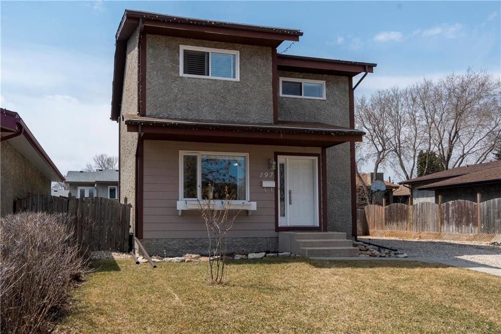 Main Photo: 197 Brentlawn Boulevard in Winnipeg: Richmond West Residential for sale (1S)  : MLS®# 202009045
