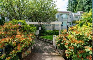 """Photo 1: 309 1155 ROSS Road in North Vancouver: Lynn Valley Condo for sale in """"THE WAVERLEY"""" : MLS®# R2594505"""