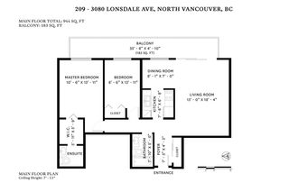 """Photo 20: 209 3080 LONSDALE Avenue in North Vancouver: Upper Lonsdale Condo for sale in """"Kingsview Manor"""" : MLS®# R2461915"""