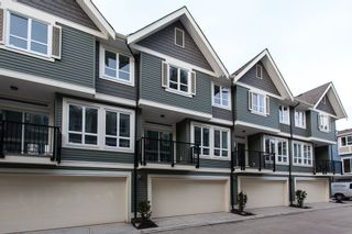 """Photo 1: SL.9 14388 103 Avenue in Surrey: Whalley Townhouse for sale in """"The Virtue"""" (North Surrey)  : MLS®# R2068850"""