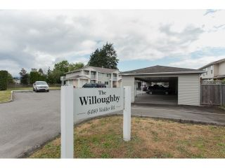 """Photo 1: 6 6480 VEDDER Road in Sardis: Sardis East Vedder Rd Townhouse for sale in """"The Willougby"""" : MLS®# R2339863"""