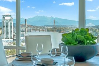 """Photo 1: 2103 210 SALTER Street in New Westminster: Queensborough Condo for sale in """"THE PENINSULA"""" : MLS®# R2593297"""