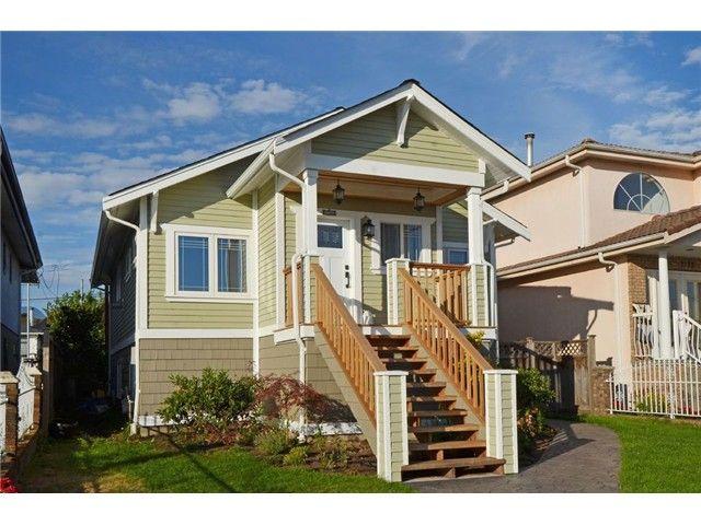 Main Photo: 2761 E GEORGIA ST in Vancouver: Renfrew VE House for sale (Vancouver East)  : MLS®# V1089710