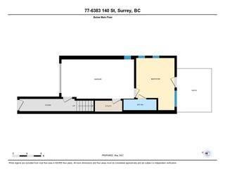 """Photo 32: 77 6383 140 Street in Surrey: Sullivan Station Townhouse for sale in """"PANORAMA WEST VILLAGE"""" : MLS®# R2573308"""