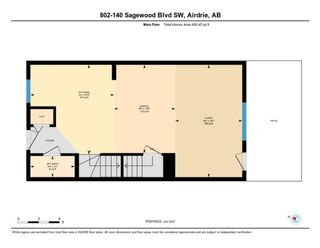 Photo 31: 802 140 Sagewood Boulevard SW: Airdrie Row/Townhouse for sale : MLS®# A1114716