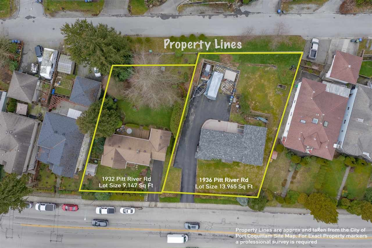 Main Photo: 1932 PITT RIVER Road in Port Coquitlam: Mary Hill Land for sale : MLS®# R2493521
