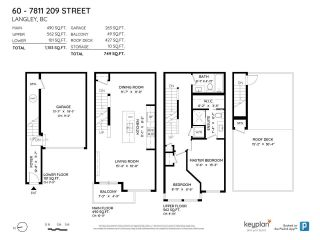 """Photo 40: 60 7811 209 Street in Langley: Willoughby Heights Townhouse for sale in """"Exchange"""" : MLS®# R2590581"""