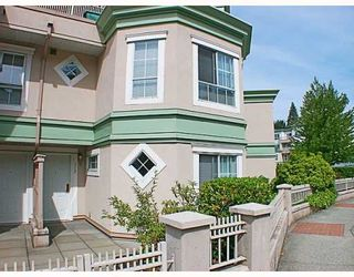 Photo 1: 112 2960 PRINCESS Crescent in Coquitlam: Canyon Springs Townhouse for sale : MLS®# V783827