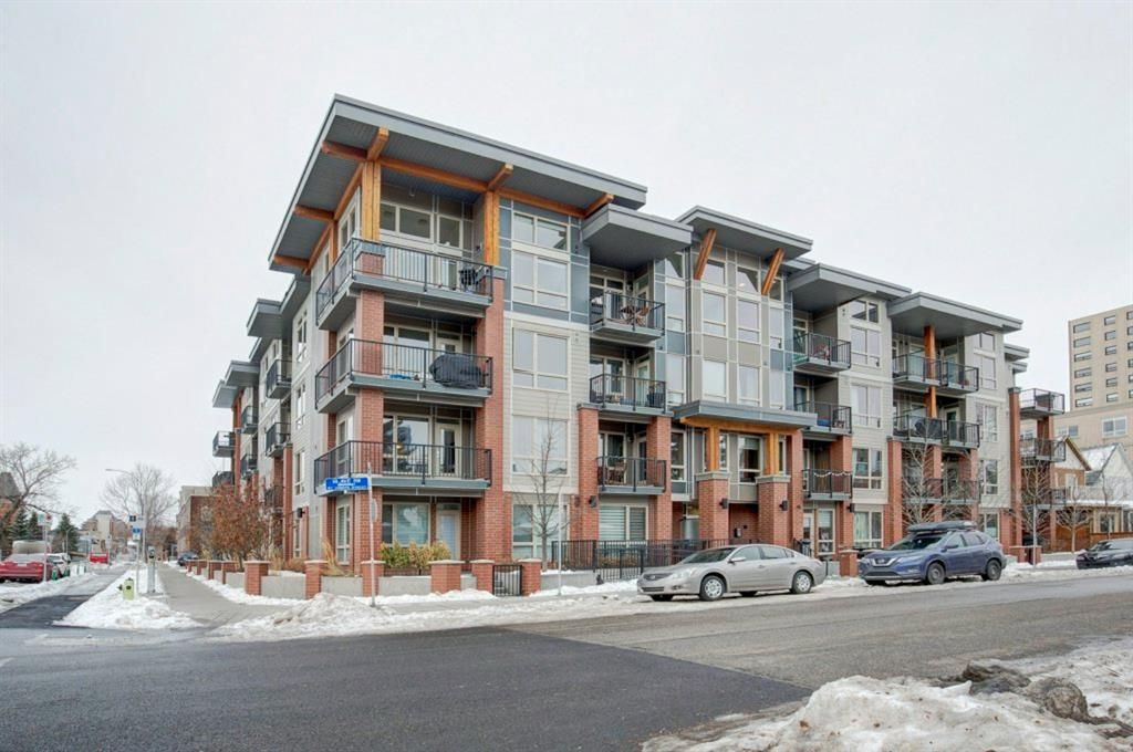 Main Photo: 218 305 18 Avenue SW in Calgary: Mission Apartment for sale : MLS®# A1059697