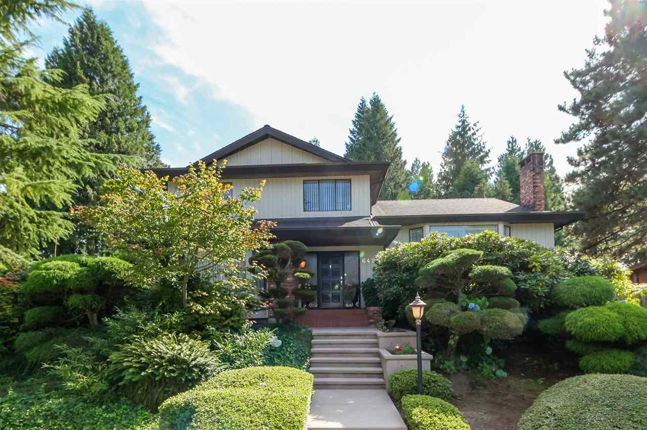 """Main Photo: 6427 CHAUCER Place in Burnaby: Buckingham Heights House for sale in """"BUCKINGHAM HEIGHTS"""" (Burnaby South)  : MLS®# R2402658"""