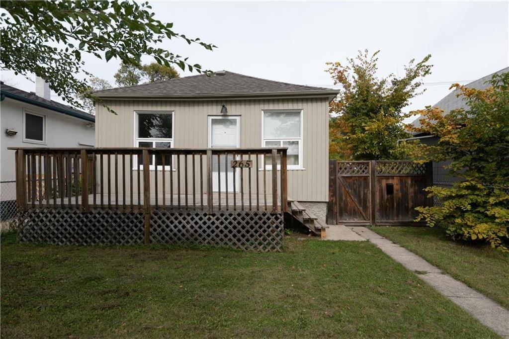 Main Photo: 265 Belmont Avenue in Winnipeg: West Kildonan Residential for sale (4D)  : MLS®# 202123335