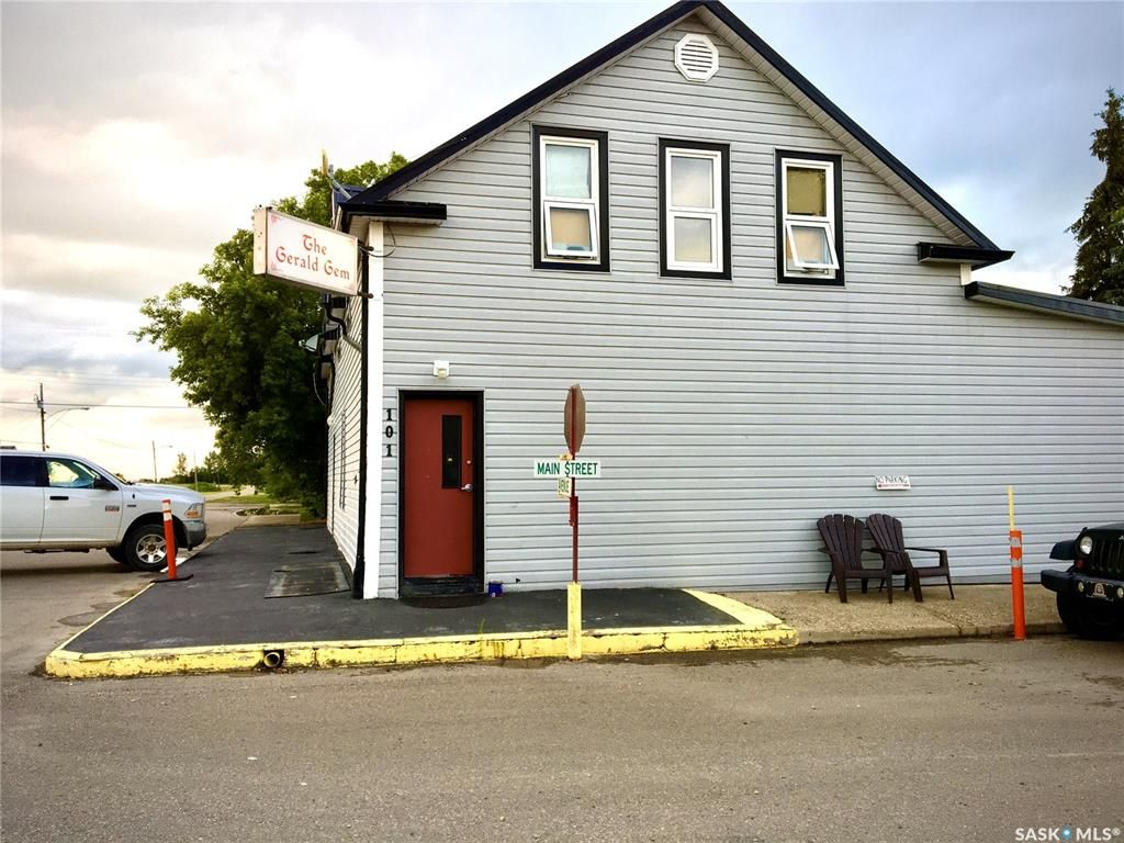 Main Photo: 101 Main Street in Gerald: Commercial for sale : MLS®# SK845961