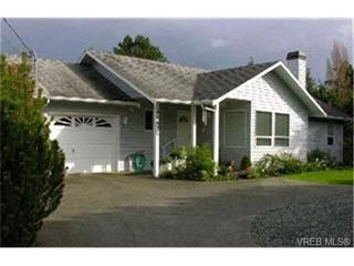 Photo 1: 4557 Elk Lake Dr in VICTORIA: SW Royal Oak House for sale (Saanich West)  : MLS®# 362783