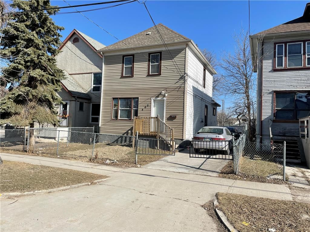 Main Photo: 405 Alfred Avenue in Winnipeg: North End Residential for sale (4A)  : MLS®# 202121646