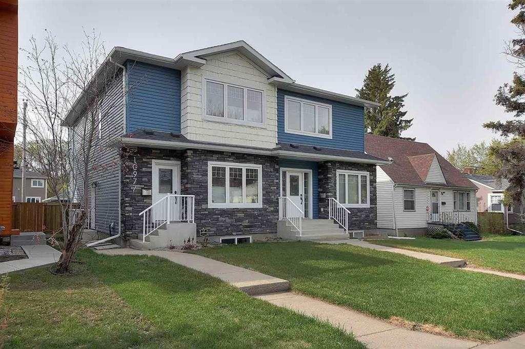 Main Photo: 10979 76 Avenue NW in Edmonton: Zone 15 House Half Duplex for sale : MLS®# E4266055