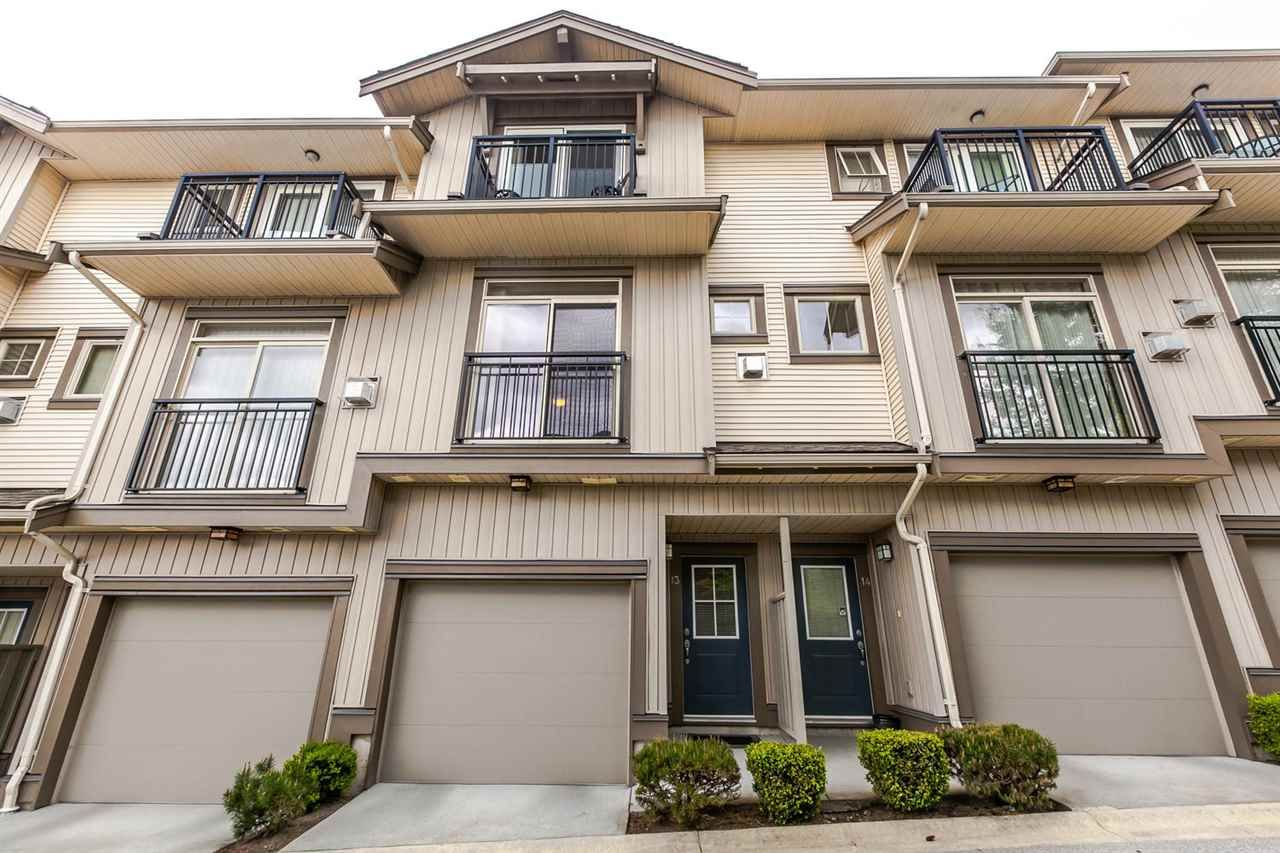 """Main Photo: 13 20326 68 Avenue in Langley: Willoughby Heights Townhouse for sale in """"Sunpointe"""" : MLS®# R2160088"""
