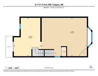 Photo 32: 2 1113 13 Avenue SW in Calgary: Beltline Row/Townhouse for sale : MLS®# A1070935