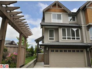 """Photo 1: 50 16789 60TH Avenue in Surrey: Cloverdale BC Townhouse for sale in """"Laredo"""" (Cloverdale)  : MLS®# F1014213"""