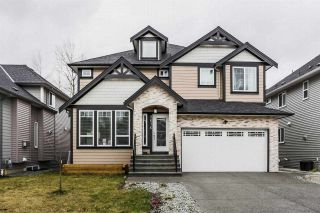 "Photo 1: 2676 CABOOSE Place in Abbotsford: Aberdeen House for sale in ""Station Hills"" : MLS®# R2300658"
