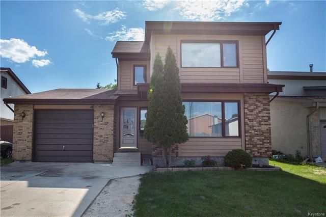 Main Photo: 154 Brixton Bay in Winnipeg: River Park South Residential for sale (2F)  : MLS®# 1814969