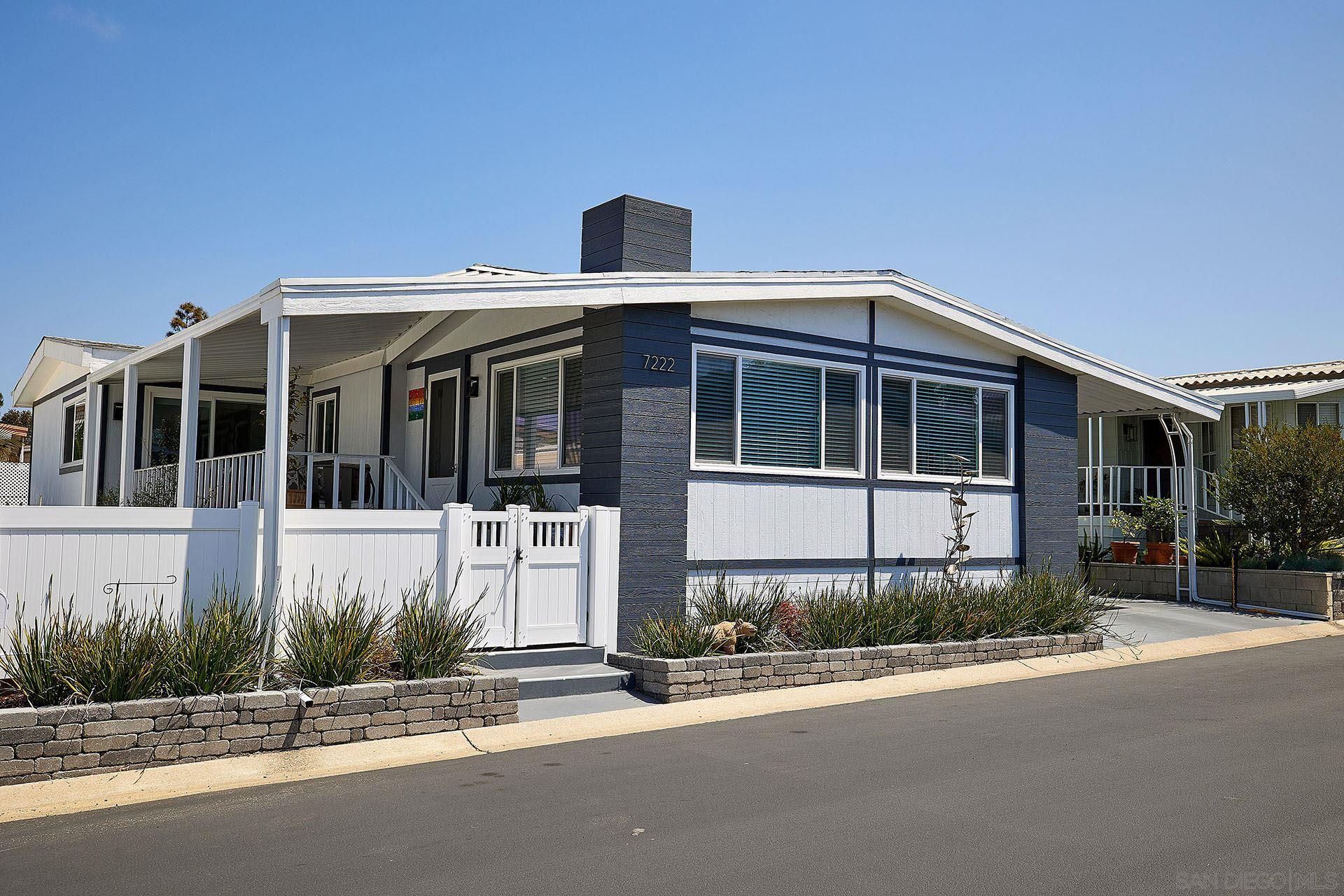 Main Photo: CARLSBAD WEST Manufactured Home for sale : 2 bedrooms : 7222 San Benito St #348 in Carlsbad
