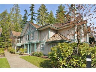 "Photo 1: 5 65 FOXWOOD Drive in Port Moody: Heritage Mountain Townhouse for sale in ""FOREST HILLS"" : MLS®# V1054464"