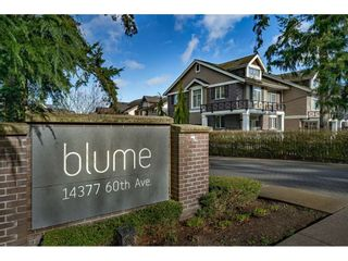 """Photo 39: 14 14377 60 Avenue in Surrey: Sullivan Station Townhouse for sale in """"Blume"""" : MLS®# R2540410"""