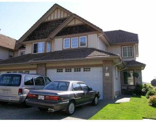 "Main Photo: 11 1751 PADDOCK DR in Coquitlam: Westwood Plateau Townhouse for sale in ""WORTHING GREEN"" : MLS®# V588279"