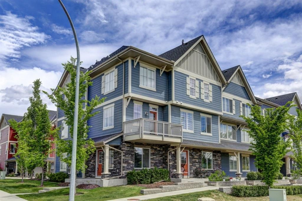 Main Photo: 1002 125 PANATELLA Way NW in Calgary: Panorama Hills Row/Townhouse for sale : MLS®# A1120145
