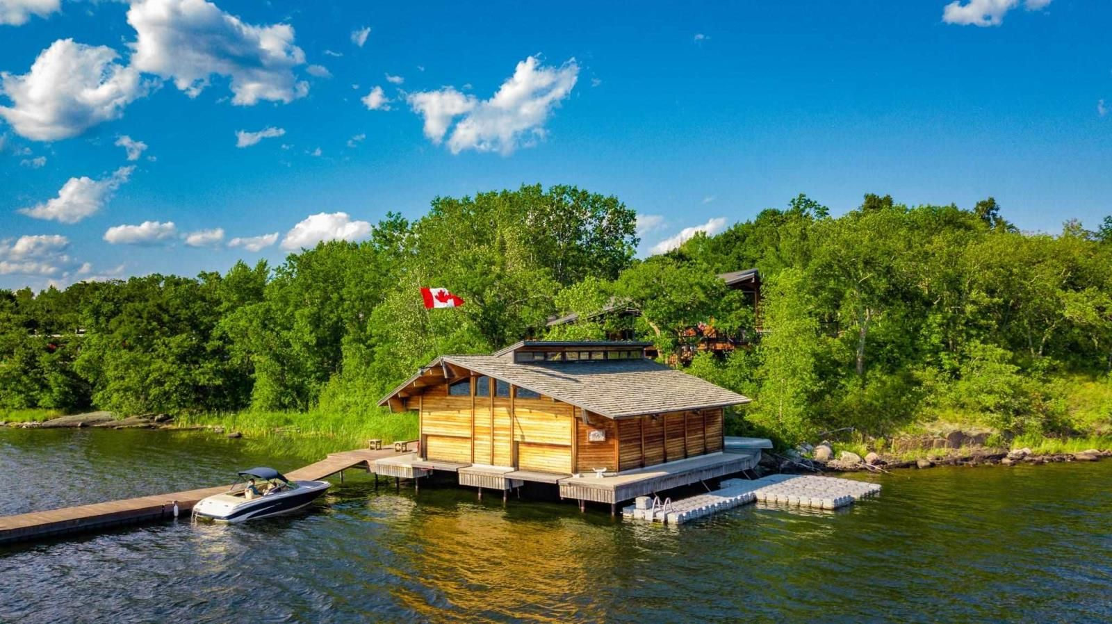 Main Photo: 18 Rush Bay road in SW of Kenora: House for sale : MLS®# TB212718