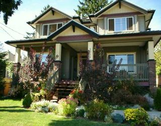 Photo 1: 2011 DUBLIN ST in New Westminster: West End NW House for sale : MLS®# V610561