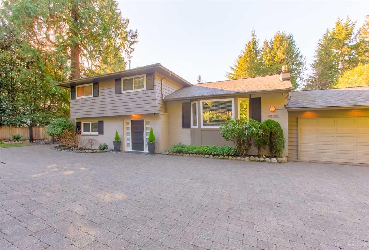 Main Photo: 3850 BAYRIDGE Avenue in West Vancouver: Bayridge House for sale : MLS®# R2346828