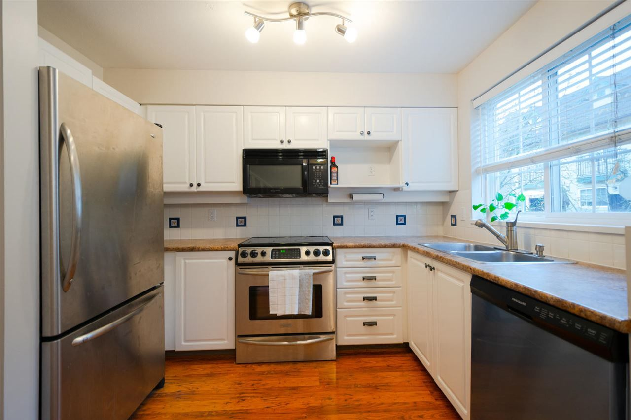 """Main Photo: 24 1561 BOOTH Avenue in Coquitlam: Maillardville Townhouse for sale in """"COURCELLES"""" : MLS®# R2319690"""