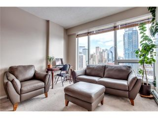 Photo 14: 1406 1053 10 Street SW in Calgary: Beltline Condo for sale : MLS®# C4110004