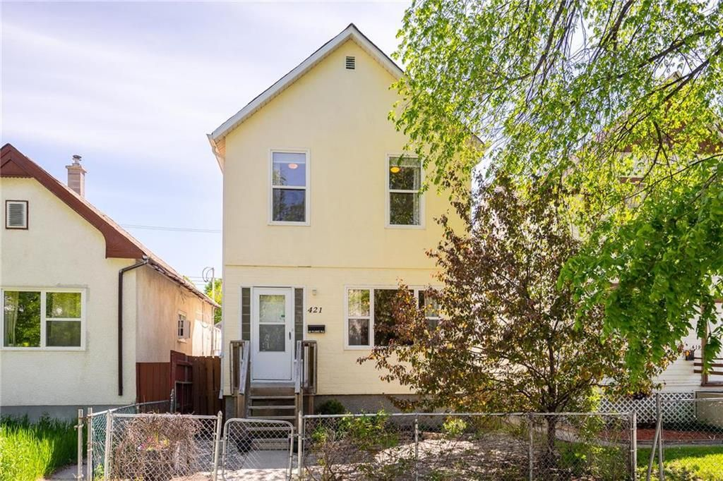 Main Photo: 421 Victor Street in Winnipeg: West End Residential for sale (5A)  : MLS®# 202113581