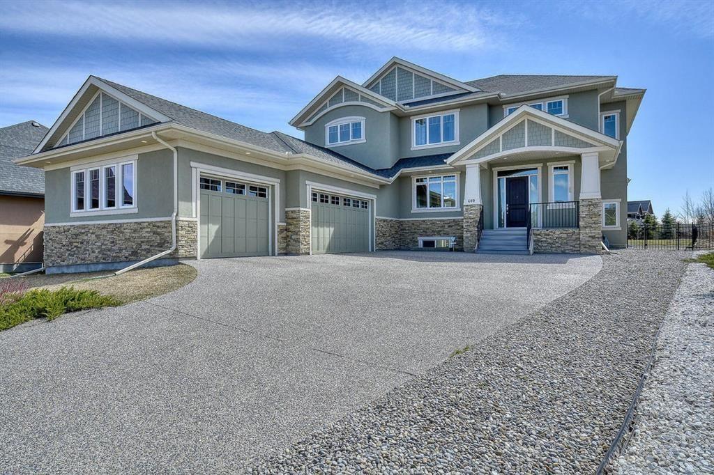 Main Photo: 409 SILVERADO RANCH Manor SW in Calgary: Silverado Detached for sale : MLS®# A1102615