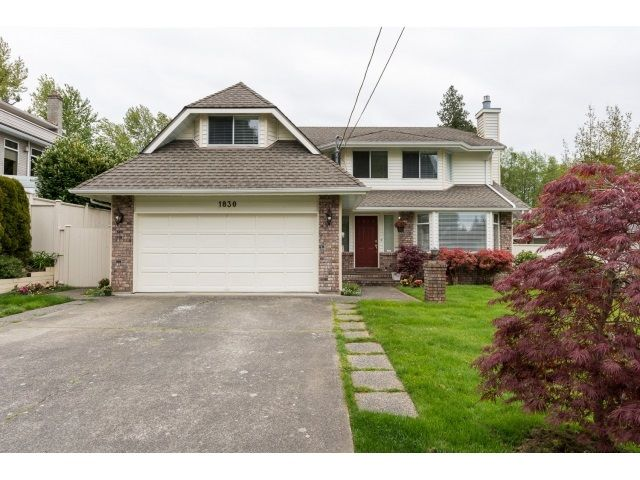 Main Photo: 1830 146 STREET in Surrey: Sunnyside Park Surrey House for sale (South Surrey White Rock)  : MLS®# R2059482