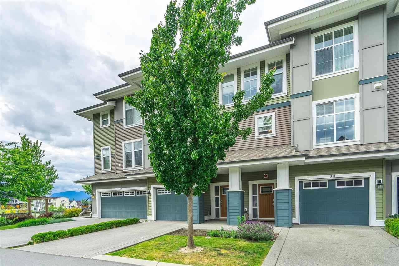 Main Photo: 34 5469 CHINOOK Street in Chilliwack: Vedder S Watson-Promontory Townhouse for sale (Sardis)  : MLS®# R2586543