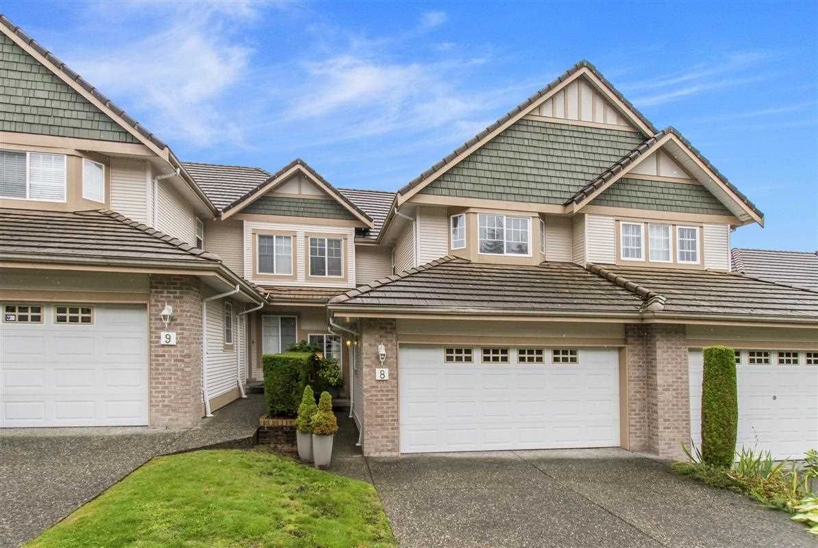 """Main Photo: 8 1751 PADDOCK Drive in Coquitlam: Westwood Plateau Townhouse for sale in """"Worthing Green South"""" : MLS®# R2407092"""
