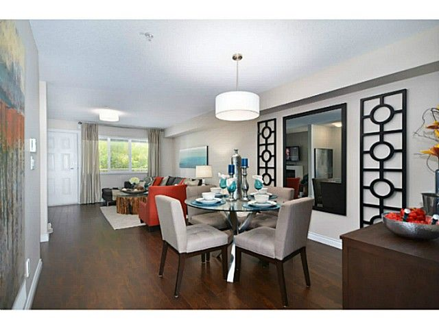 """Main Photo: 6 1268 RIVERSIDE Drive in Port Coquitlam: Riverwood Townhouse for sale in """"SOMERSTON LANE"""" : MLS®# V1012744"""