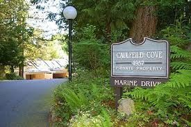 """Photo 1: 9 4957 MARINE Drive in West Vancouver: Olde Caulfeild Townhouse for sale in """"CAULFEILD COVE"""" : MLS®# R2249440"""